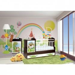 Комната для новорожденного Антел Интерьер №22 2 предмета