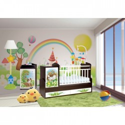 Детская комната Антел Интерьер №22 2 предмета