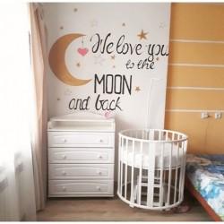 Детская комната для новорождённого