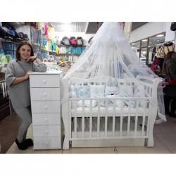 Комната для новорожденого Снежана 3 предмета