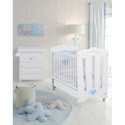 Комплект №2 Micuna Angie: кроватка + комод + два текстиля