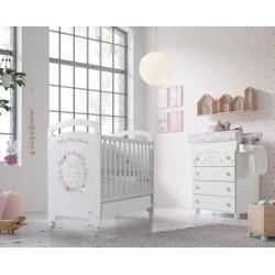 Детская комната для новорожденного №1 Micuna Katy: кроватка 120x60 + пеленальный комод