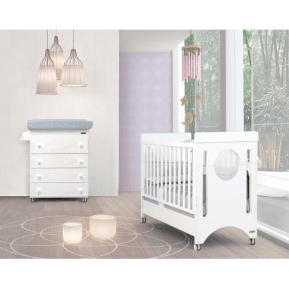 Комплект №4 Micuna Baby Balance: кроватка 120x60 + пеленальный комод