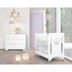 Детская комната для малыша №3 Micuna Baby Balance: кроватка 120x60 + тумба