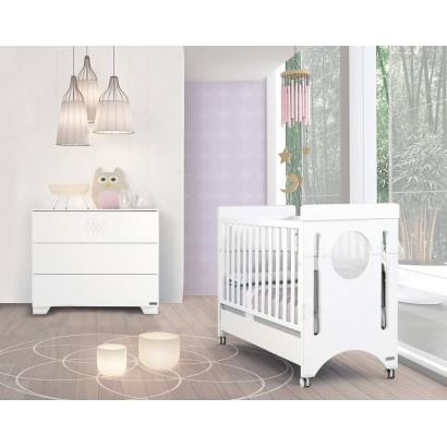 Комплект №3 Micuna Baby Balance: кроватка 120x60 + тумба