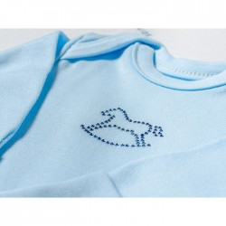 Комплект для мальчика Makkaroni Kids Лошадки 3 пр