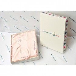 Комплект на выписку для девочки Makkaroni Kids Лошадки 3 пр