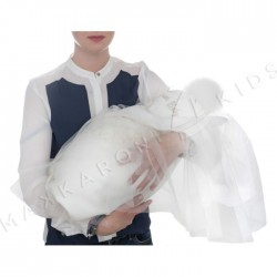 Уголок-пеленка на выписку Makkaroni Kids 75*75 см сатин