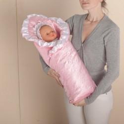 Одеяло-конверт на выписку для новорожденного Арт. 27