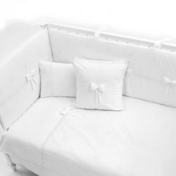 Постельное бельё Fiorellino Premium Baby White 125x65 5 предметов