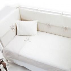Постельное бельё Fiorellino Premium Baby Cream 140x70 5 предметов