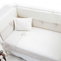 Постельное бельё Funnababy Premium Baby Cream 125x65 5 предметов