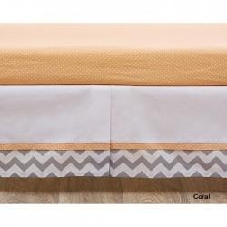 Комплект в кроватку Giovanni ZigZag Coral Shapito 5 предметов
