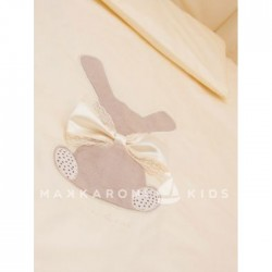 Комплект в кроватку Makkaroni Kids Toy Rabbit 6 пр. сатин