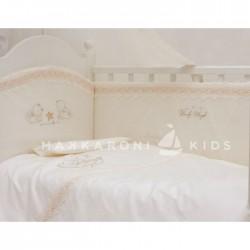 Комплект в кроватку Makkaroni Kids Lovely Angels 6 пр. сатин