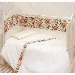 Комплект в кроватку Makkaroni Kids Sweet Baby 6 пр. сатин