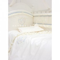Комплект в кроватку Makkaroni Kids Нежность 6 пр. сатин