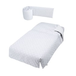 Бортики и покрывало для эволюционной кроватки Micuna Galaxy TX-1675