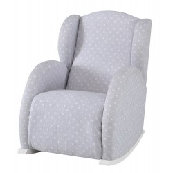 Кресло-качалка Micuna Wing/Flor White