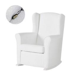 Кресло-качалка с Relax-системой Micuna Wing/Nanny White