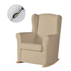 Кресло-качалка с Relax-системой Micuna Wing/Nanny Natural