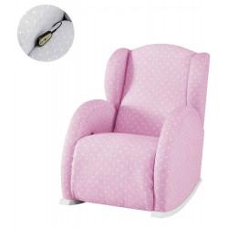 Кресло-качалка с Relax-системой Micuna Wing/Flor White