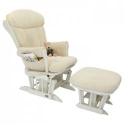 Кресло-качалка Tutti Bambini Daisy GC35 White/cream с пуфом Woodland Walk