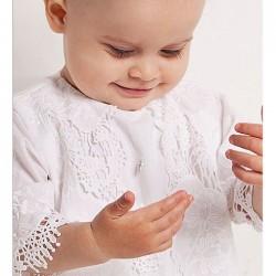 Крестильный набор для девочки Makkaroni Kids Ольга 2 предмета