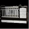Детская кроватка-трансформер Кедр Martina 1 Giraffe поперечный маятник