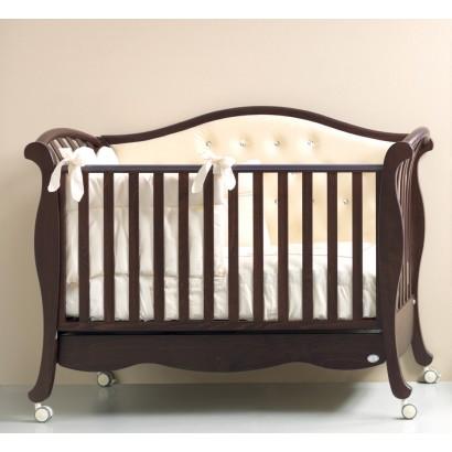 Кроватка 125x65 Bambolina Divina Luxe Cristallo