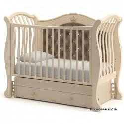 Детская кроватка с универсальным маятником Гандылян Габриэлла люкс Плюс