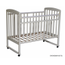 Детская кроватка Кедр Любаша-1 (колеса-качалка)