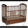 Детская кроватка Кедр Любаша 3/6 универсальный маятник с ящиком