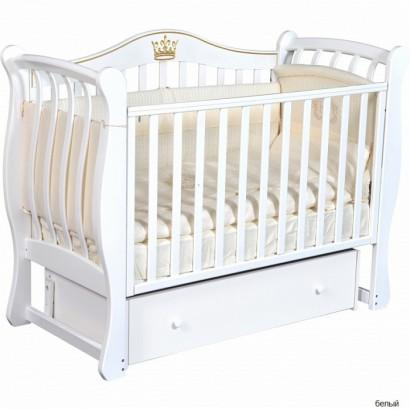 Детская кроватка Кедр Bella 2 универсальный маятник+ящик