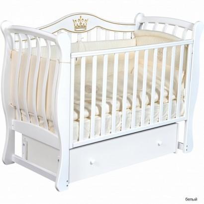 Детская кроватка Кедр Grace 2 универсальный маятник+ящик
