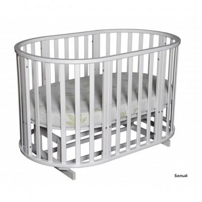 Круглая кроватка Кедр Sofia 2
