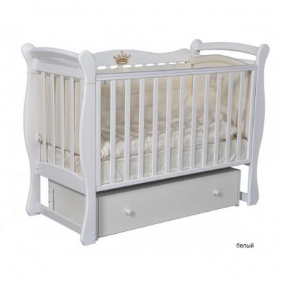 Детская кроватка Кедр Viola 1 с универсальным маятником и ящиком