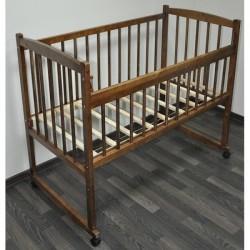 Детская кроватка Массив Беби-2 с трехпозиционным ложем