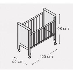 Кроватка 120x60 Micuna Sweet Bear Basic + Матрас полиуретановый СН-620