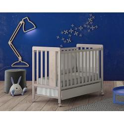Кроватка 120x60 Micuna Rabbit + Матрас полиуретановый СН-620