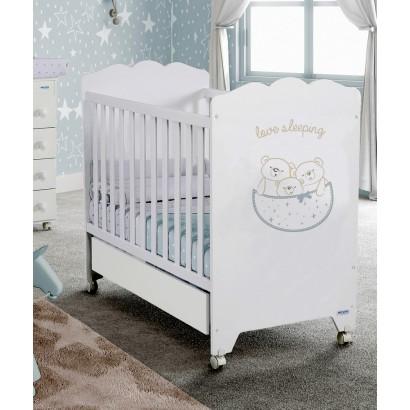 Кроватка 120x60 Micuna Love Sleeping + Матрас полиуретановый СН-620