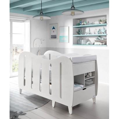 Кроватка 140x70 Micuna Harmony Aqua