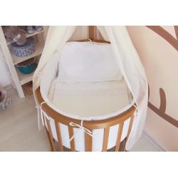 Круглая (овальная) кроватка трансформер Elipse 7 в 1