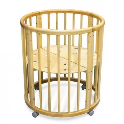 Круглая (овальная) кроватка Феалта-baby Луна 5 в 1