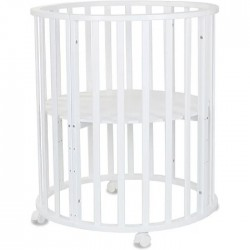 Круглая кроватка трансформер 7в1 СКВ-10 10011*
