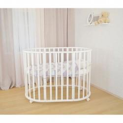 Круглая кроватка трансформер 9в1 СКВ-10 10100*