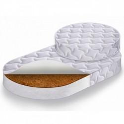 Комплект матрацев Наше Солнышко 2 шт для круглой и овальной кроватки