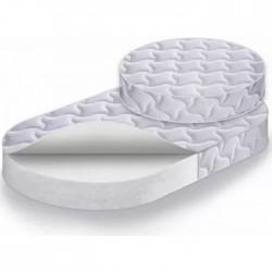 Комплект из двух матрацев для круглой и овальной кроваток Наше Солнышко