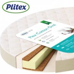 Овальный матрас Plitex Flex Cotton Oval