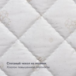 Круглый матрас Plitex Flex Cotton Ring